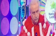 Marty Whelan's santa suit was the talk of Winning Streak last night