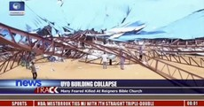 160 killed after church roof collapsed onto worshippers