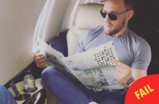 Conor McGregor is getting stick for the ridiculous error in his latest Instagram snap