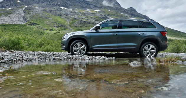 Review: Skoda's Kodiaq SUV has everything... even umbrellas hidden in the doors