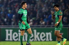 Big blow for Connacht as Springbok-capped Boshoff out until March