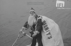 Santa on the Liffey and 1960s Dublin: A look back at Ireland's Christmas past