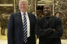 Donald Trump and Kanye West have held a meeting in Trump Tower