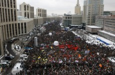 Massive protests take place in Russia over alleged election fraud