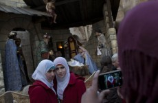 Thousands visit Bethlehem on Christmas Eve