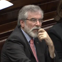 Taoiseach takes back Dáil statement that Gerry Adams drove blacked-out van