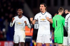 Zlatan's late winner gives United back-to-back league victories for the first time since August