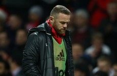 Mourinho plays down Rooney incident after striker smashes boot against dugout