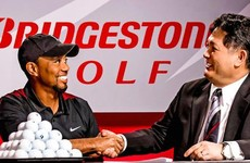 Tiger's back, baby! Woods signs multi-year deal with golf ball manufacturer