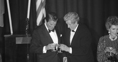 Aran sweaters, Avoca rugs and Waterford Crystal Statue of Liberty: Gifts Taoiseach gave Ronald Reagan