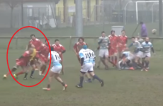 Rugby player given 3-year ban for shocking no-arms hit on female ref