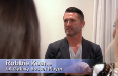Our own Robbie Keane briefly popped up on The Real Housewives of Beverly Hills this week