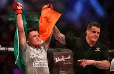 SBG's James Gallagher steps up and delivers against Anthony Taylor at Bellator 169 in Dublin