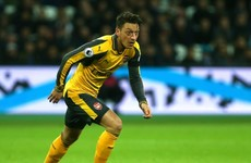 Mesut Ozil 'not good enough' against Everton