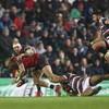 Late long-range penalty brings Munster winning streak to an end in Welford Road