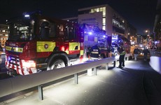 Dublin Fire Brigade heroically save man who went into water at IFSC