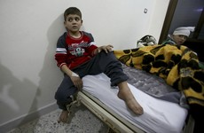 Desperate civilians wait for evacuations from Aleppo