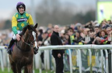 Nicholls delighted with Kauto, concerned for injured Master Minded