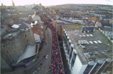 Look at the scenes in Derry today as they attempt to break the Christmas jumper world record