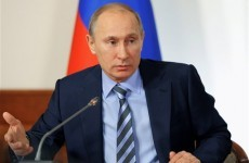 Putin says he wants clean presidential vote
