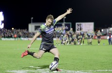 Carty overcomes criticism to kick Connacht to spectacular late win