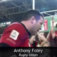 Anthony Foley remembered by BBC at the Sports Personality of the Year awards last night