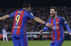 'It's like something from the Playstation' - Suarez praise for Messi after Catalan derby