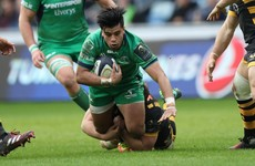 Connacht's Stacey Ili facing 6 weeks out but Jake Heenan could return for Munster meeting