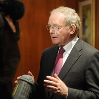 History as McGuinness speaks at Tory conference