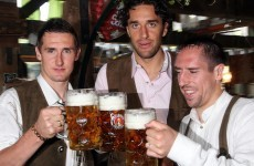 Bayern Munich ban players from Oktoberfest