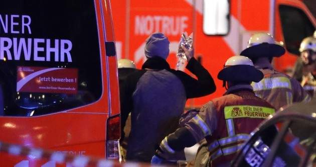 Nine people killed as truck ploughs into Berlin Christmas market