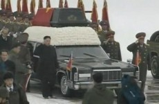 Watch: North Koreans mourn their leader on snowy Pyongyang streets
