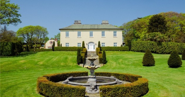 A spectacular Georgian mansion overlooking the sea near Kinsale