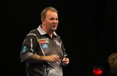Power out: Taylor beaten in the World Championship