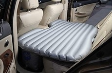 This car air mattress is ideal if you have too many visitors over Christmas