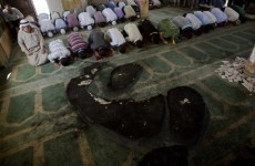 West Bank mosque torched by arsonists
