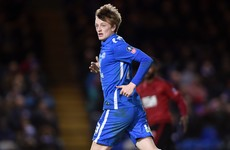 Ireland's Chris Forrester can look forward to glamour FA Cup tie with Chelsea next month