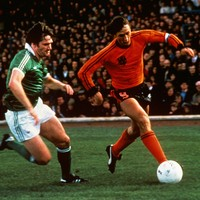 Dutch legend Johan Cruyff on how he learned to play football