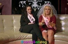 A male stripper called the 'G-String King' got everyone talking on RTÉ's Carrick-On-Stag