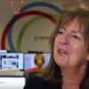 'I'm not a fan of the bare-arm look in winter': Evelyn Cusack on complaints about forecasters' outfits