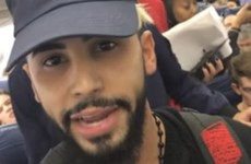 Airline says man who claimed he was thrown off plane for speaking Arabic was just trying to 'disrupt' flight