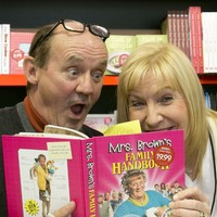 Brendan O'Carroll makes sure 2,800 families will have Christmas dinner