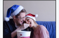 This photo of Edward Snowden feeding his girlfriend KFC confused a lot of people last night