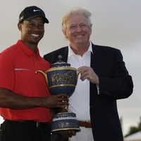 Tiger Woods is playing golf with Donald Trump today - reports