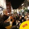 Gavin James joined Glen Hansard for the traditional Christmas Eve busk on Grafton Street