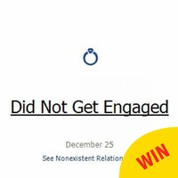 This guy's 'did not get engaged' Christmas Day Facebook status is excellent