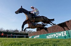 Min storms to victory in Novice Chase at Leopardstown
