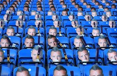 Leicester protest against Vardy ban with 30,000 masks