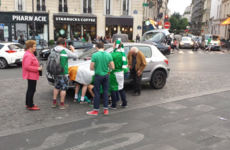 'We all had a drink in our hand': The story of the Irish fans that changed the flat tyre at the Euros