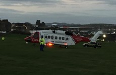 Man rescued after falling down cliff at golf club